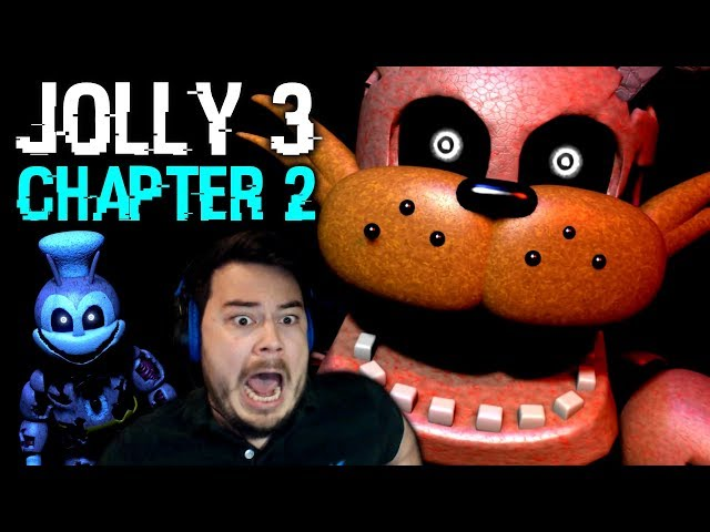 IM BEING HUNTED BY FNAF ANIMATRONICS!! | Jolly 3: Chapter 2 (Nights 3 and 4)