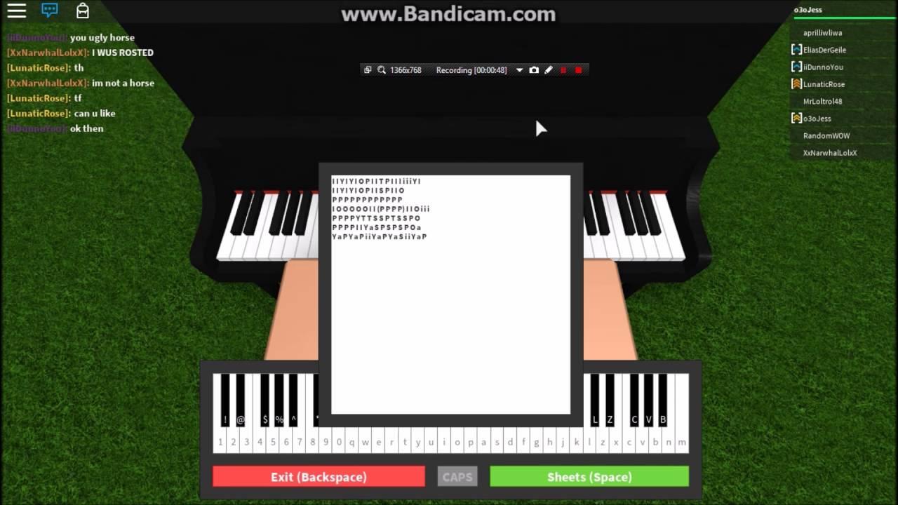 Fade Roblox Roblox Piano Faded Youtube