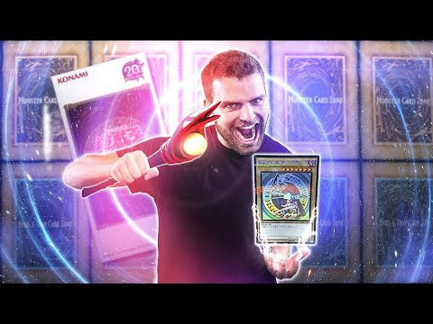 SEARCH for the GHOST Rare DARK MAGICIAN | YuGiOh 20th Anniversary Box Opening, Second Wave