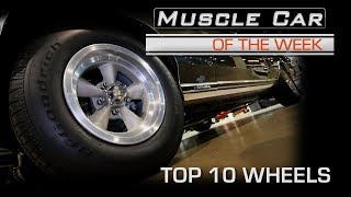 Hot Wheels:  Top 10 Wheels From Muscle Car Of The Week Video Episode 222 V8TV