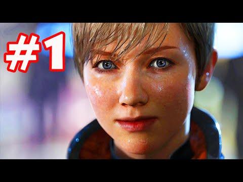DETROIT: BECOME HUMAN #1: BI KỊCH XÃ HỘI LOÀI NGƯỜI TƯƠNG LAI !!!