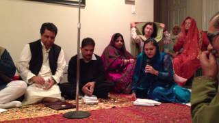Anjuman Taqdees-e-Adab 2nd Mushaira----Part 01 - ZARA SYED RECITING SALIM SYED