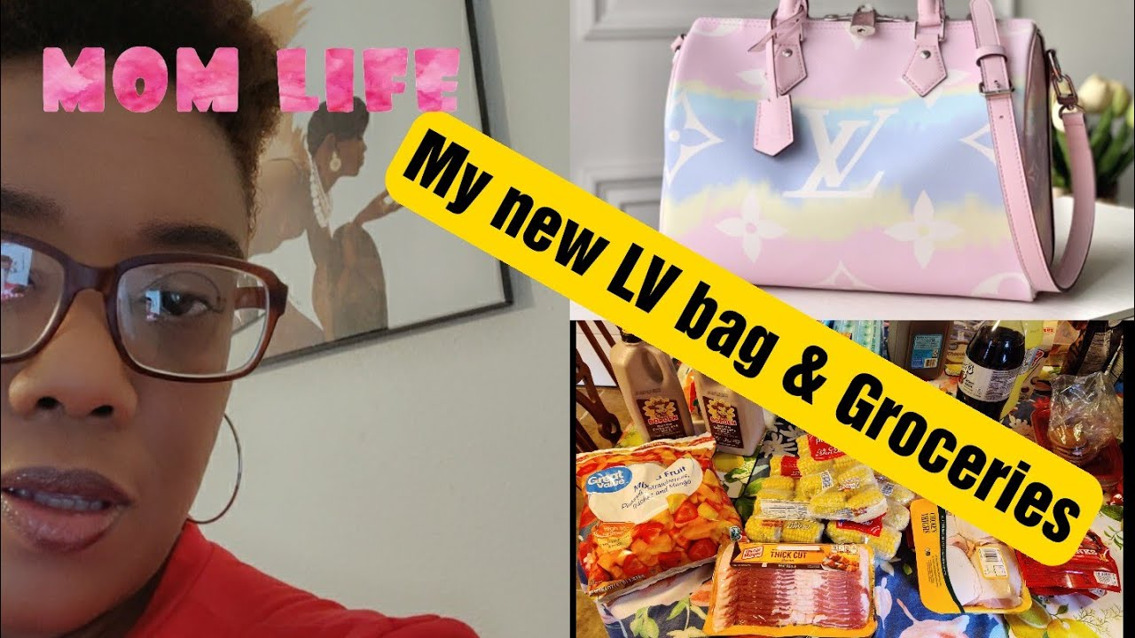 Quarantine Diaries Mama moving with us, Painting ||LOUIS VUITTON Bandouliere Speedy 30 unboxing