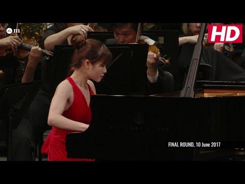 #Cliburn2017 FINAL: CONCERTO - Rachel Cheung -  Beethoven: Piano Concerto No. 4 in G Major, Op. 58