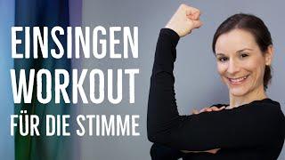 Einsingen - Stimme warmsingen mit Energie - schwungvolle Einsingübungen | singdu.de
