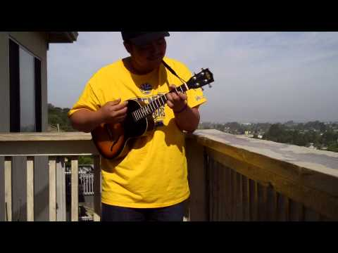 Queen - We Are The Champions (Uke Solo + Chords/TAB) - YouTube