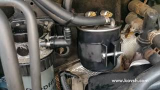 Установка дополнительного фильтра на Ford Transit 2.0TDCI