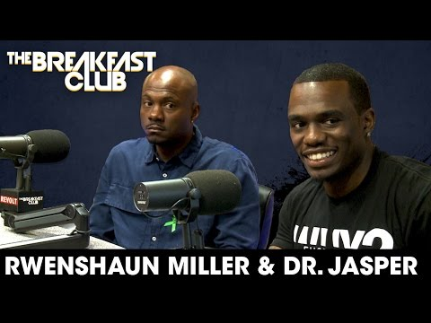 Rwenshaun Miller & Dr. Jasper Discuss Mental Health Issues And How To Treat Them