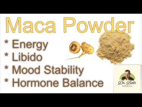 Maca Root: High Energy - Mood Stability - Libido