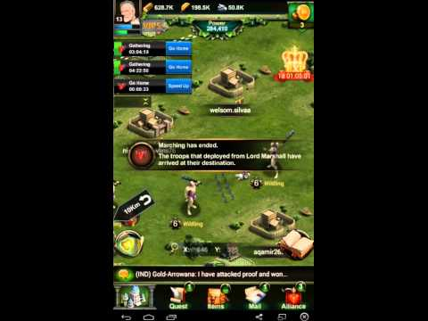 Clash Of Kings How To Attack Monsters