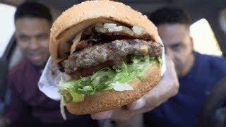 EATING HABIT BURGER GRILL BBQ BACON CHARBURGER