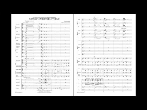 Mission: Impossible Theme by Lalo Schifrin/arr. Paul Lavender