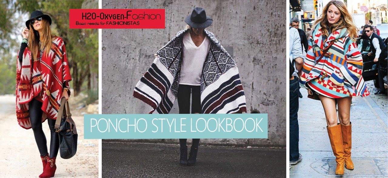 e22c666ff Poncho Style Fall/Winter Lookbook - YouTube