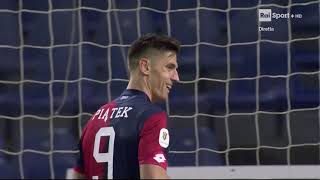 Genoa 6-7 Entella (Coppa Italia) sequenza rigori 6-12-2018
