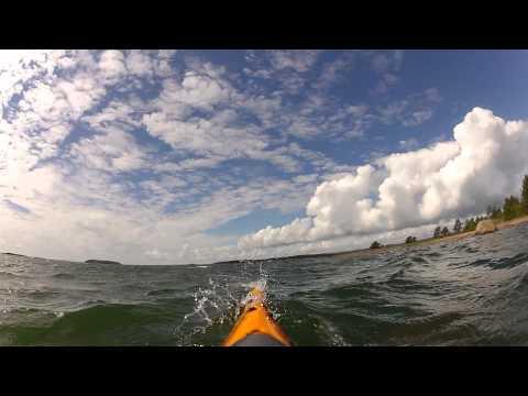 Kayaking around the Aland Islands