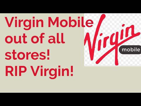 Sprint's Virgin Mobile All But Dead, Out Of All Stores!