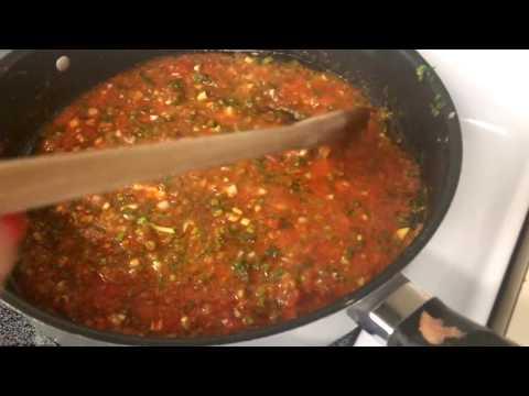 Lentejas  Colombianas Con Salsa Roja Hogao  Sin Carne