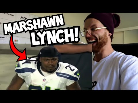 "Rugby Player Reacts to MARSHAWN LYNCH ""BEASTMODE"" NFL YouTube Video"
