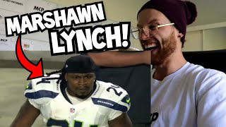 """Rugby Player Reacts to MARSHAWN LYNCH """"BEASTMODE"""" NFL YouTube Video"""