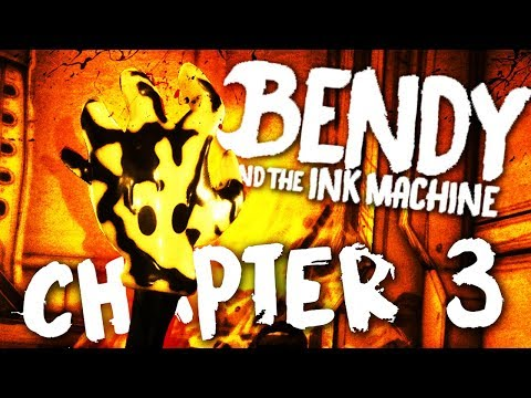 CHAPTER 3 IST DA!!! | BENDY AND THE INK MACHINE - CHAPTER 1 - 3 - LET'S PLAY (Deutsch/German)