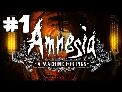 Amnesia: A Machine for Pigs Gameplay Walkthrough Playthrough Part 1 Full Game