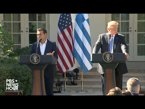 WATCH: President Trump holds a joint press conference with Greek Prime Minister