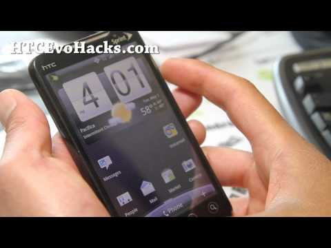 How to Root HTC Evo 4G on HBOOT 2.18 with S-OFF!