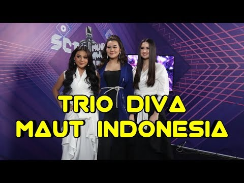 TRIO DIVA TAMPIL DI SCTV MUSIC AWARDS 2019