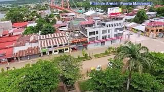 Puerto Maldonado - Madre de Dios - Perú - from the air