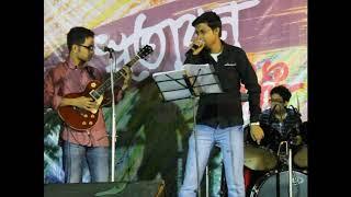 Kailash Kher Teri Deewani Cover by Bangla Band Mallar Live