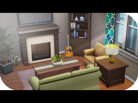 THE SIMS 4 // CITY LIVING APARTMENT RENO | PACE & JUNE