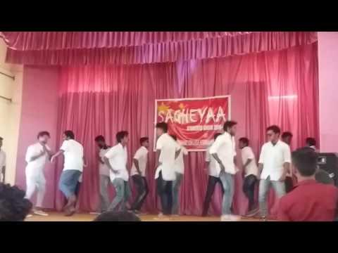 GPTC KUNNAMKULAM COLLEGE UNION DAY DANCE PERFMCE BY TD S4 BOYS