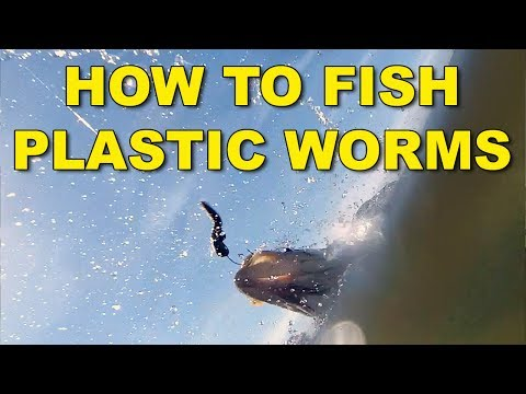 How To Fish Plastic Worms (The Best Ways) | Bass Fishing