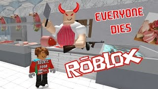 ESCAPE THE EVIL BUTCHER SHOP OBBY : ROBLOX ADVENTURES ESCAPE