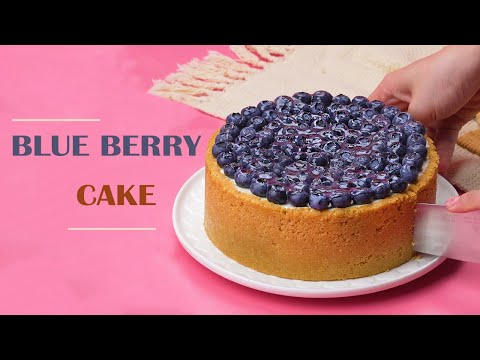 Blue Berry Cake Decorating Ideas   Easy Dessert Recipe   Top Yummy Japan