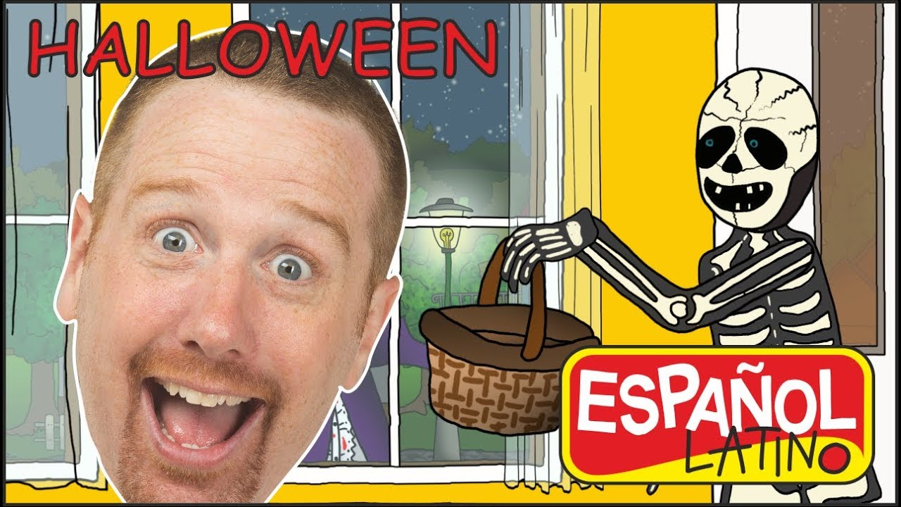 halloween-truco-o-trato-cancin-aprender-espaol-latino-con-steve-and-maggie
