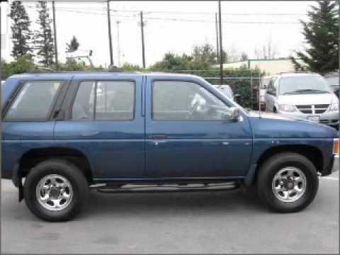 1993 Nissan Pathfinder - Glennwood Wa - YouTube