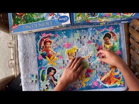 100 pieces PUZZLE (Disney Fairies) |