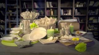 Одноразовая посуда из дерева (ЭКО). Экологическая био посуда из дерева - ECOVILKA