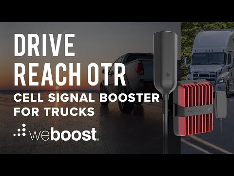 Drive Reach OTR Cell Signal Booster for Trucks | weBoost