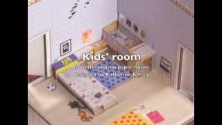 Kids Room For The Pop-up Paper House