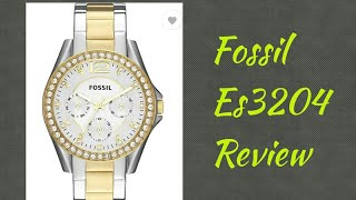 Fossil Es3204 watch review