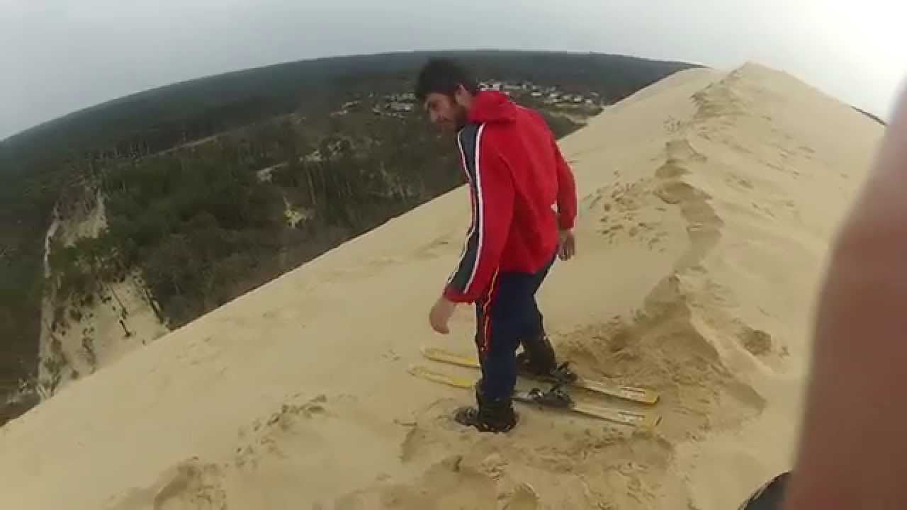 dune du pyla ski 2014 gopro youtube. Black Bedroom Furniture Sets. Home Design Ideas