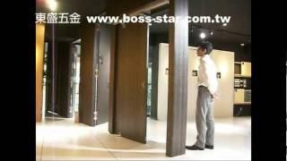 東盛五金 內推式門片-1 www.boss-star.com.tw