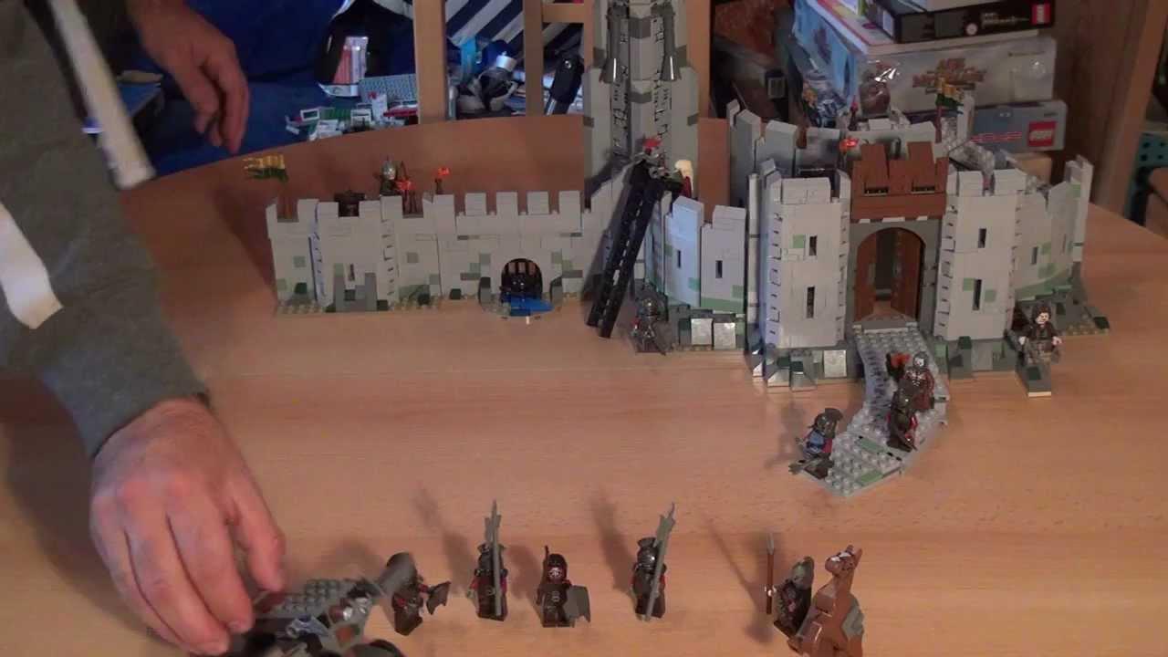 Custom Figuren für Herr der Ringe Elben Krieger Set 8 aus LEGO® Figuren Teilen