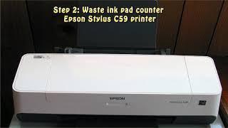 Reset Epson Stylus C59 Waste I…