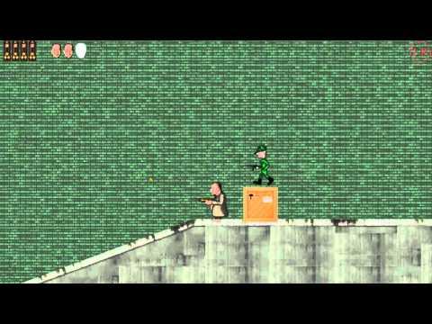 Игра Зеленый Слоник 2D Прохождение Альфа версии