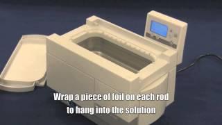 Ultrasonic Cleaner Foil Performance Test