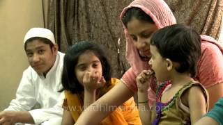 A muslim family celebrates Eid al-Adha, From YouTubeVideos