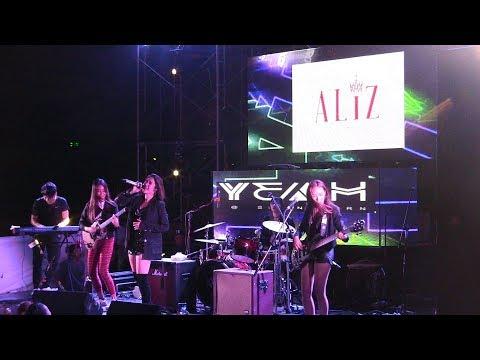 มินิคอนเสิร์ต เปิดตัว 4 สาว ALIZBAND - #Leenam #ALIZband  #MuzikMoveRecords